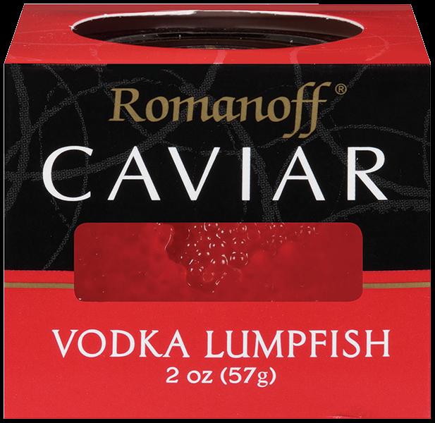 VodkaLumpfish - Romanoff® Vodka Lumpfish Caviar